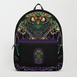 Grand Horned Owl Backpack