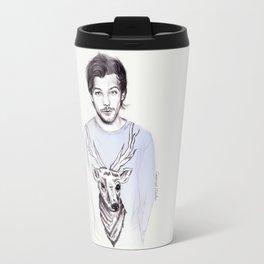Louis and his deer Travel Mug