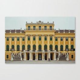 The Palace of Schönbrunn Canvas Print