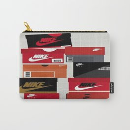 SNEAKER HEAD RED Carry-All Pouch