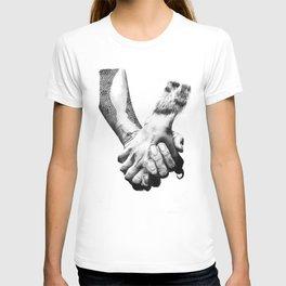 Human Nature: Hands T-shirt