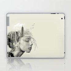 New York City reflection Laptop & iPad Skin