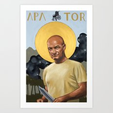 Saints of LOST - John Locke Art Print