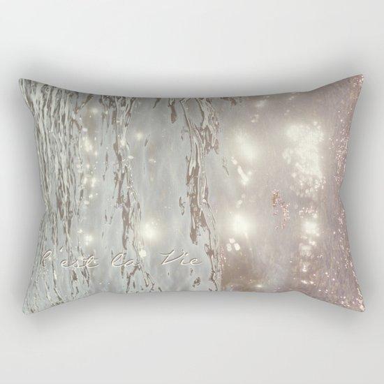 C'est La Vie II Rectangular Pillow