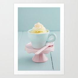Mug cake Art Print