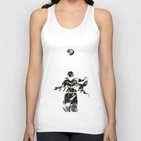 guns Tank Tops featuring Holy Guns by MRCRMB