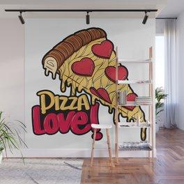 Pizza Love Wall Mural