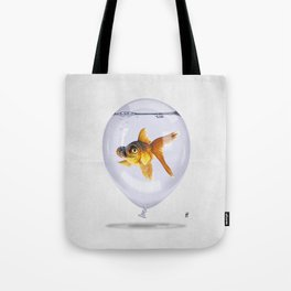 Inflated (Wordless) Tote Bag