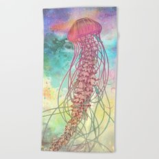Space Jelly Beach Towel