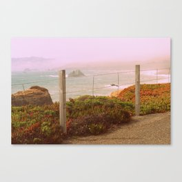 California Coast. Canvas Print