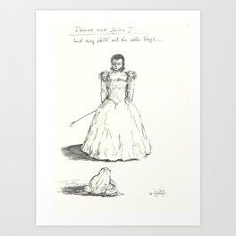 fairy tale 1 Art Print