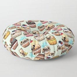 Cupcake Pugs Floor Pillow