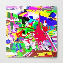 RGB XYZ Metal Print