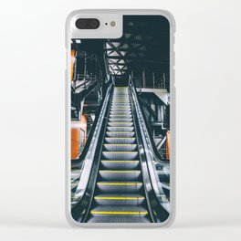 Escalators Clear iPhone Case