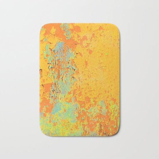 Paint texture Bath Mat