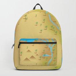 The Nile River Egypt Backpack