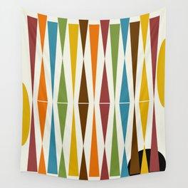 Mid-Century Modern Art 1.4 Wall Tapestry