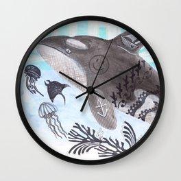 Killer Whale Ishmael Wall Clock