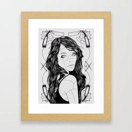 Razor Sharp Framed Art Print