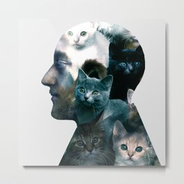 Ben Johnston Kittens Metal Print