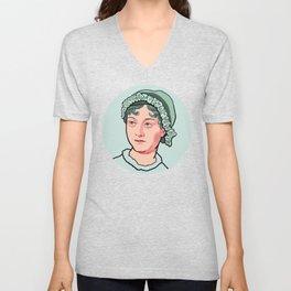 Jane Austen Unisex V-Neck