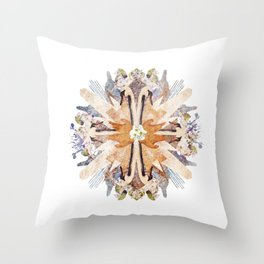 Kaleidoscope II Throw Pillow