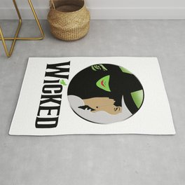 broadway musical wicked Rug