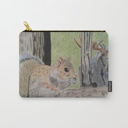 Squirrel and Moose Carry-All Pouch