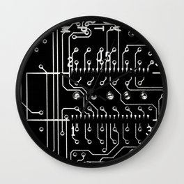 Circuit Wall Clock
