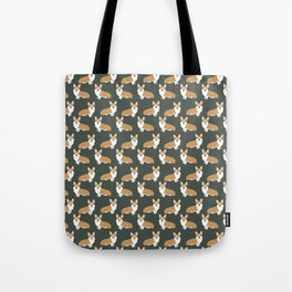 Corgi pattern cute gift for dog owner welsh corgi must haves dog breeds pet portraits pet friendly  Tote Bag