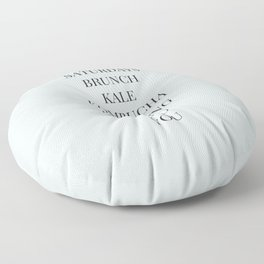 And You Floor Pillow