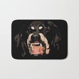 Givenchy Antigona Rottweiler Art Print Bath Mat