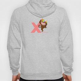 x for xylophonist Hoody