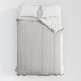Bright White Stitched and Quilted Pattern Comforters