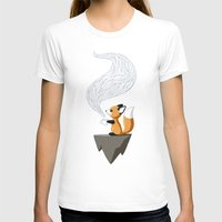 digital T-shirts featuring Fox Tea by Freeminds