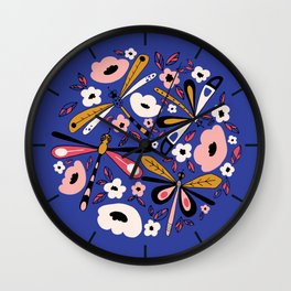 Fantasy Dragonfly Wall Clock