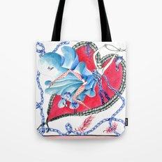 Falling in Love Tote Bag