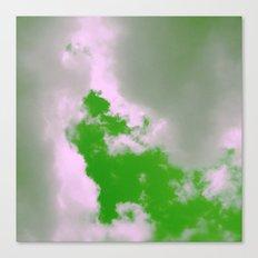Green Sky! Canvas Print