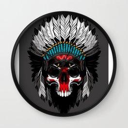 Mohawk #society6 #buyart #buy #decor Wall Clock