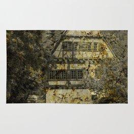 Old half-timbered House ( Klosterhof Blaubeueren ) Rug