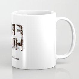 Hug back Coffee Mug