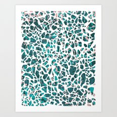 Grace Terrazzo Art Print