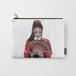 Red Geisha Girl Carry-All Pouch