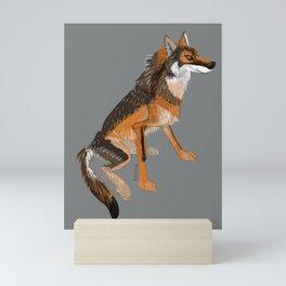 Totem Iberian wolf Mini Art Print