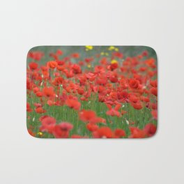 Poppy field 1820 Bath Mat