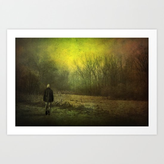 only echoes Art Print