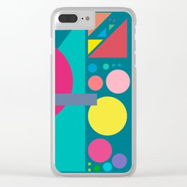 Four Sequences and Some Distractions Clear iPhone Case