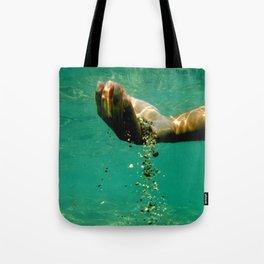 Human Hourglass Tote Bag