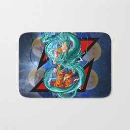 Dragon Ball Super Goku Super Saiyan Blue Bath Mat