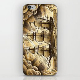 Sailing Winds iPhone Skin